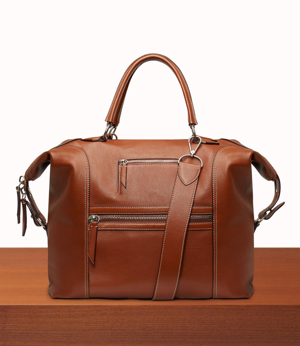 Vagabond All Day Bag Buffalo Cognac