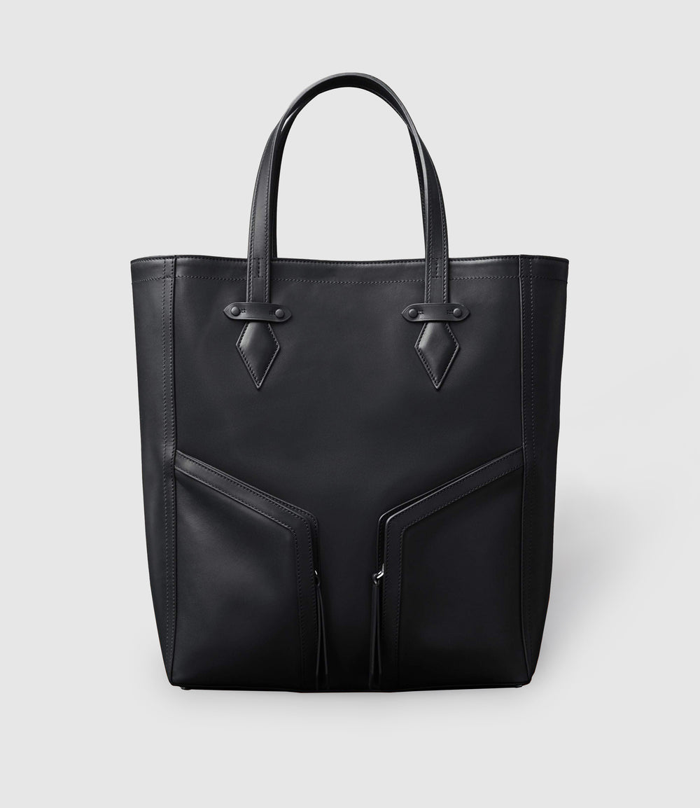 Sergeant All Day Cabas Atelier Calfskin Black