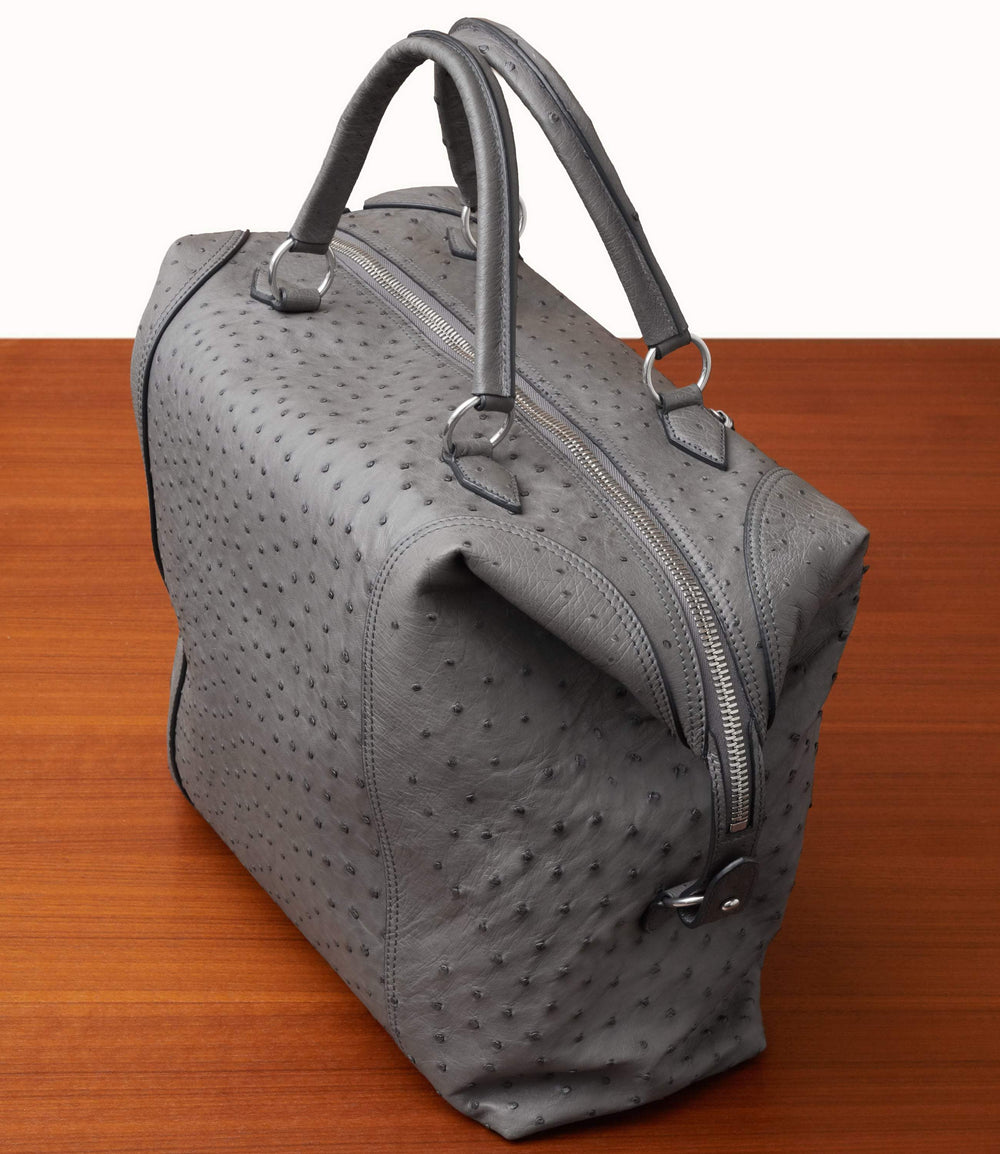 Vagabond All Day Bag Ostrich Caviar Grey