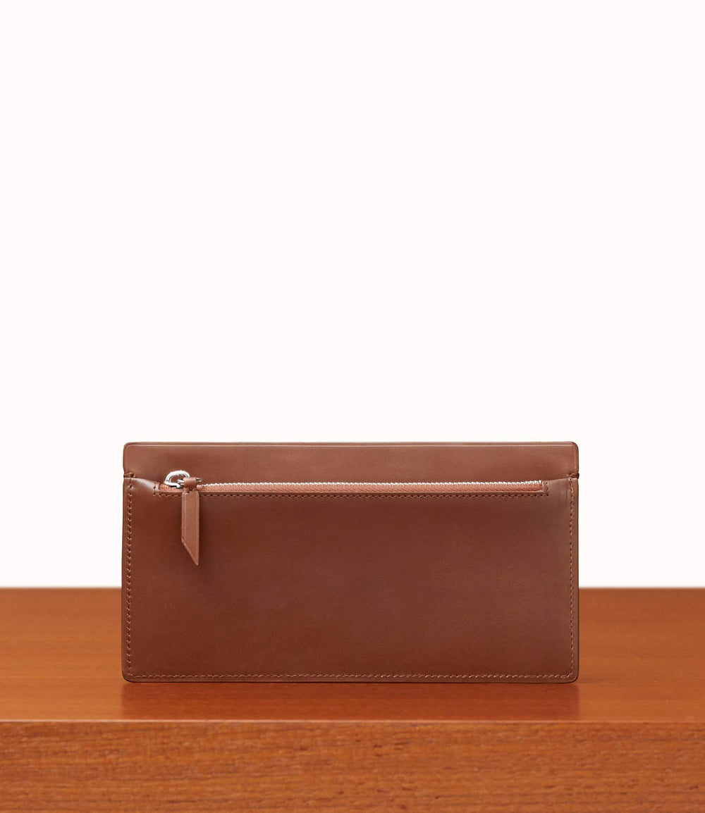 Inside Out Wallet Atelier Calfskin Havana