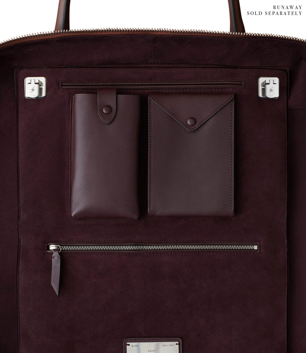 Le Grand Voyage Three to Five Night Bag Atelier Calfskin Havana