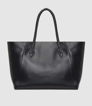 Perriand Collapsible Cabas Atelier Calfskin Black