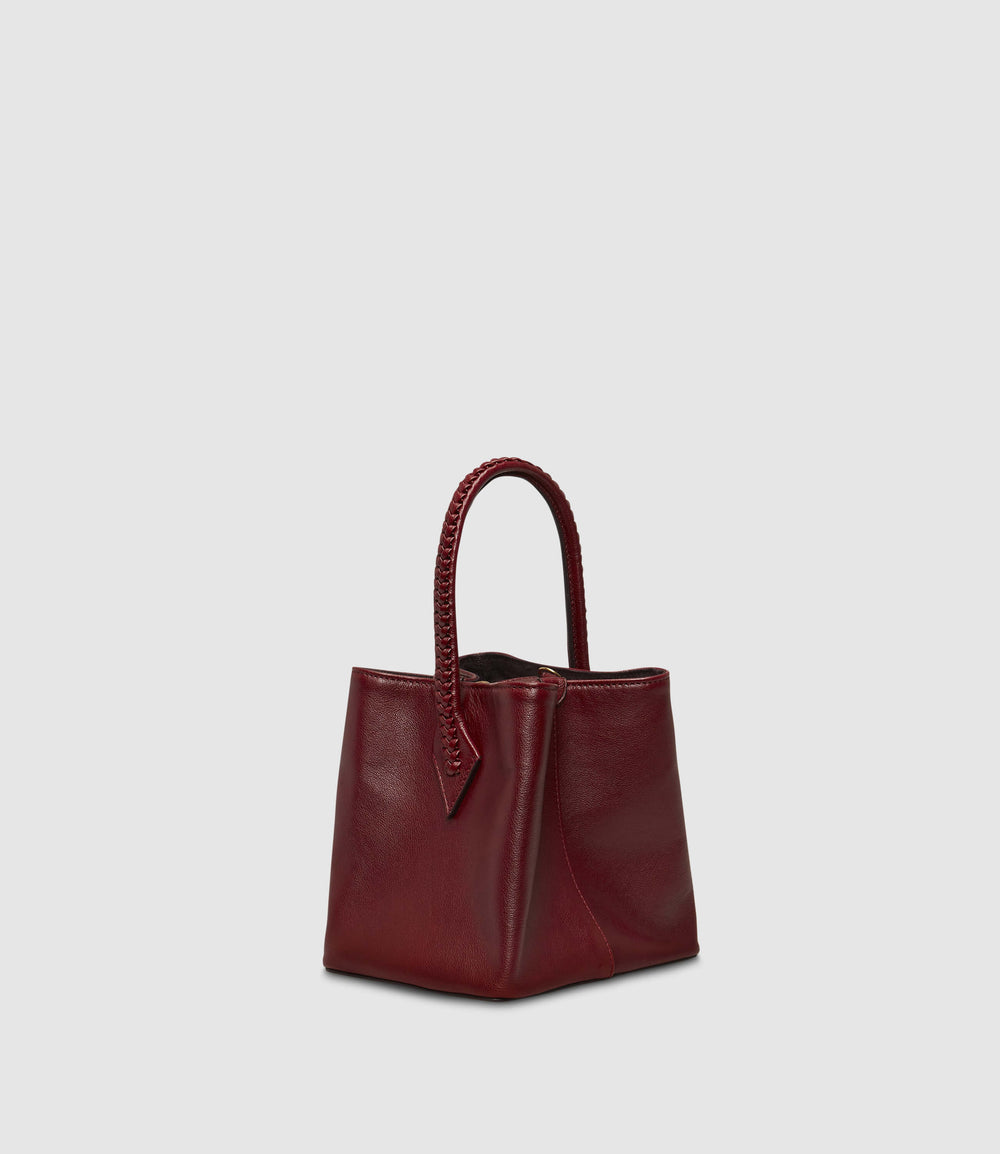 Perriand Mini Buffalo Dark Cherry