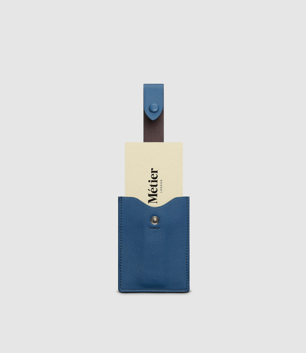 Small Wallet Smooth Calfskin Riviera Blue