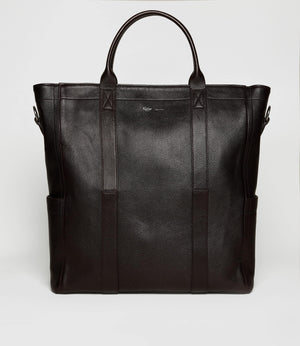 Mariner Zippered Tote Buffalo Cioccolato