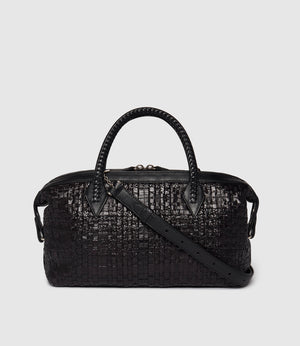 Perriand City Small Albers Woven Black