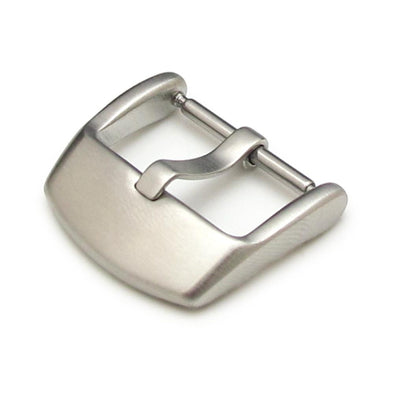18,20,22,24 mm High Quality 316L Stainless Steel Spring Bar type Streamline Buckle, Brushed finish - Taikonaut