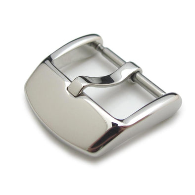 18,20,22,24 mm High Quality 316L Stainless Steel Spring Bar type Streamline Buckle, Polished finish - Taikonaut
