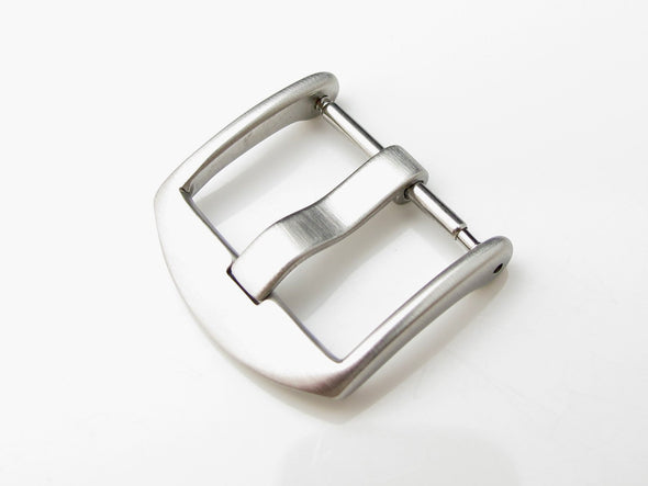 20mm, 22mm Top Quality Stainless Steel 316L Spring Bar type Buckle, Brushed finish - Taikonaut