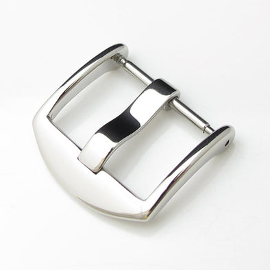 20mm, 22mm Top Quality Stainless Steel 316L Spring Bar type Buckle, Polished finish - Taikonaut