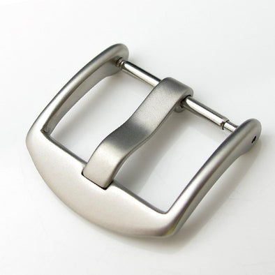 20mm, 22mm Top Quality Stainless Steel 316L Spring Bar type Buckle, Sandblasting finish - Taikonaut