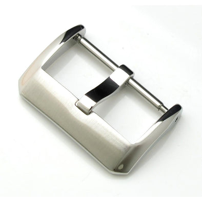22mm Top Quality Stainless Steel 316L Spring Bar type Buckle, Brushed and Polished finish - Taikonaut