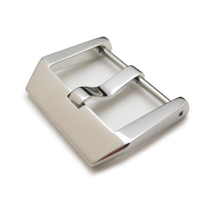 24mm High Quality 316L Stainless Steel Screw type 4mm Tongue Buckle, Brushed finish - Taikonaut