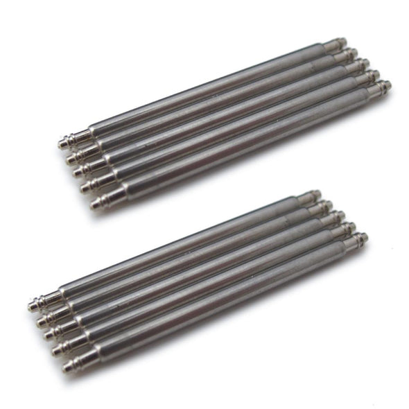 Spring Bars Double Shoulder 1.78mm (pack of 20 pieces) - Taikonaut