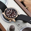 Citizen Promaster Marine Mechanical Divers Watch 200m Limited Edition NY0083-14X Rose Gold