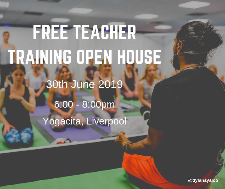 Free Teacher Training Open House - Liverpool - Yogacita