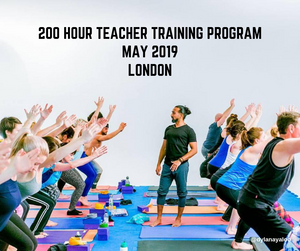 200 Hour Yoga Teacher Training with Dylan Ayaloo - London - May 2019