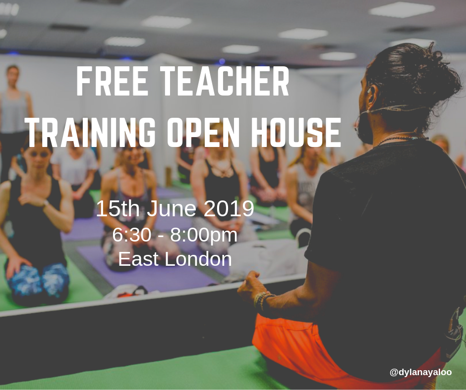 Free Teacher Training Open House - London - 15th June 2019
