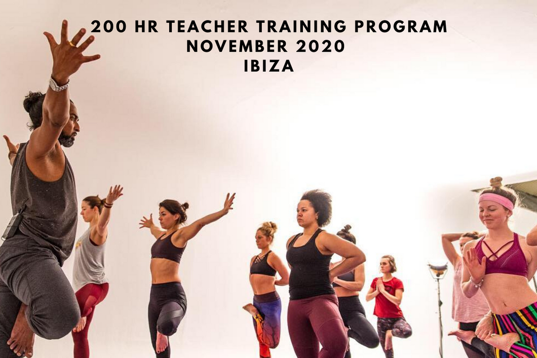 200 Hour Yoga Teacher Training with Dylan Ayaloo - Ibiza - Nov 2020