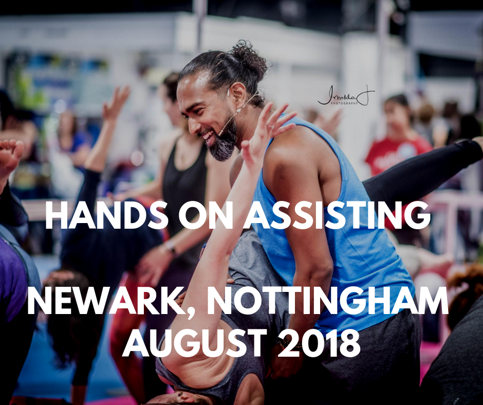 Hands-on Assisting Program - Aug 2018 - Nottingham
