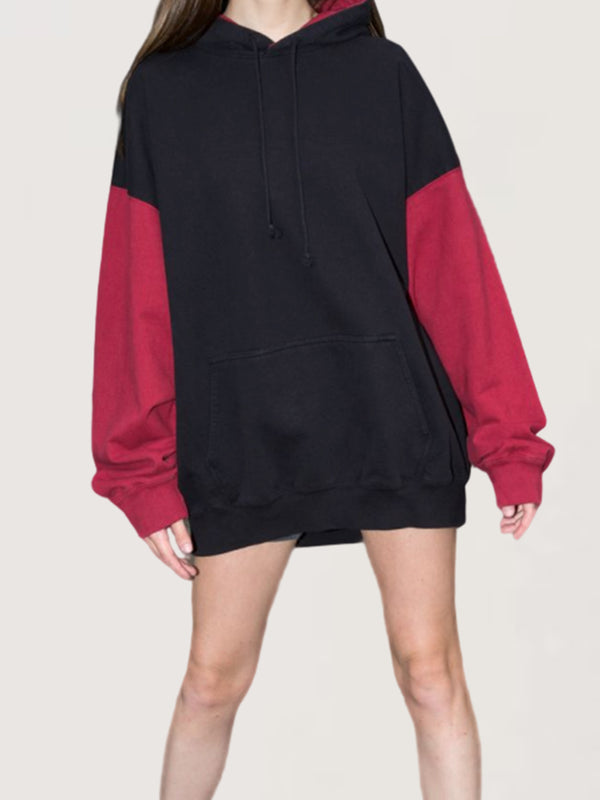 Autumn Winter Casual Oversize Long Sleeve Hoodie
