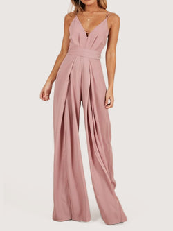 Pink Shift Sleeveless One-Pieces