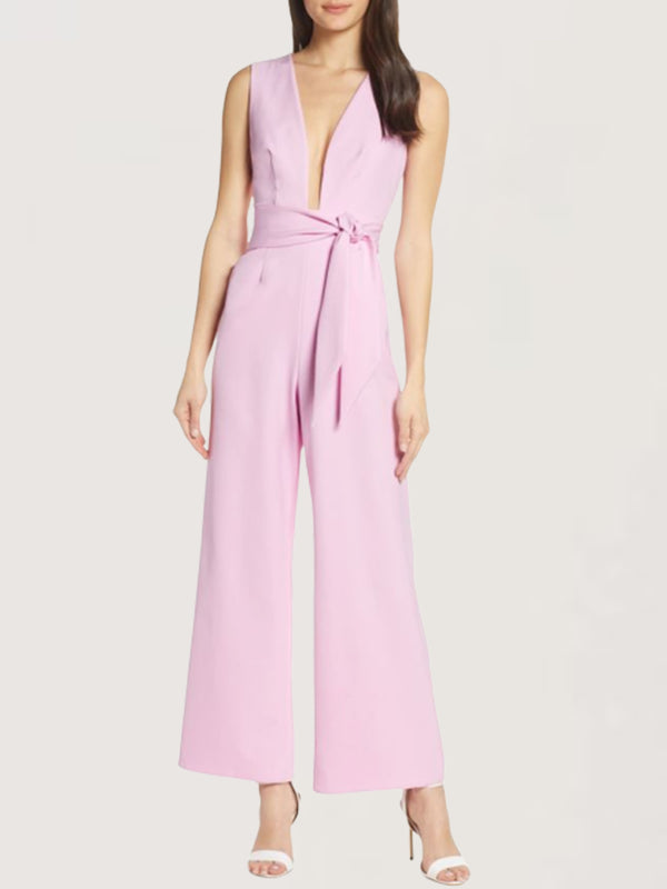 Sweet Sexy Daily Evening Party Sleeveless Jumpsuit