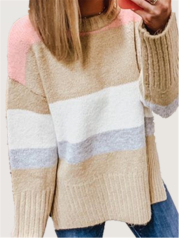 Casual Basic Daily Plus Size Sweater