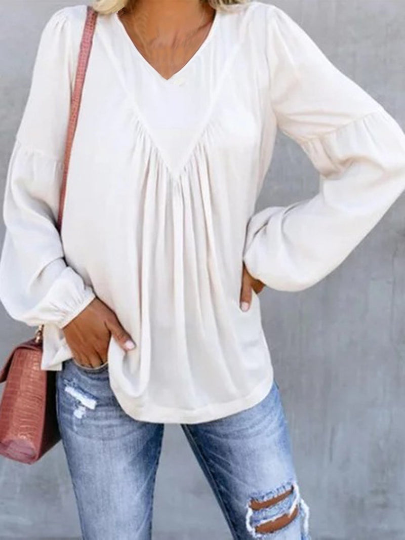 Plain Casual Shirts & Tops