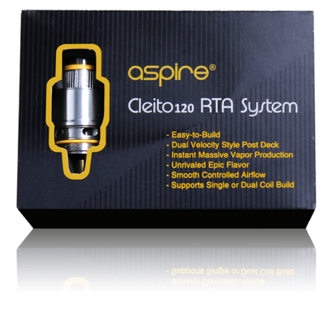 Aspire Cleito 120 RTA Kit | UK Ecig Station