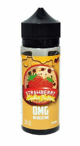 Vaper Treats - Strawberry Cookie Butter 100ml 0mg | UK Ecig Station