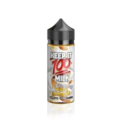 keep it 100 nilla almond eliquid uk ecig station