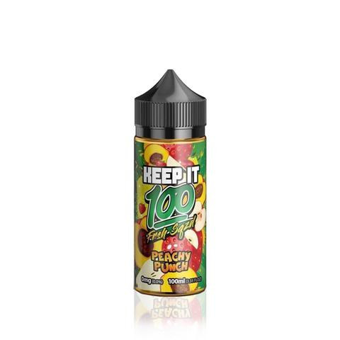 keep it 100 peachy punch eliquid uk ecig station