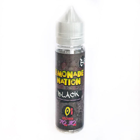 Lemonade Nation - Black 50ml 0mg | UK Ecig Station