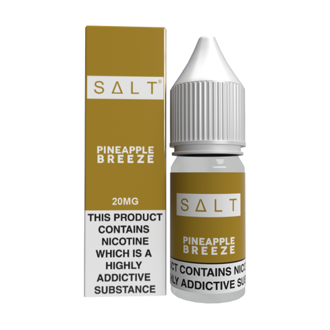 SALT Eliquid - Pineapple Breeze | UK Ecig Station
