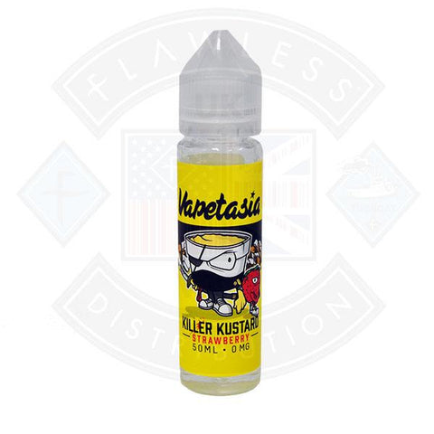 Vaptasia Killer Kustard Strawberry UK Shortfill