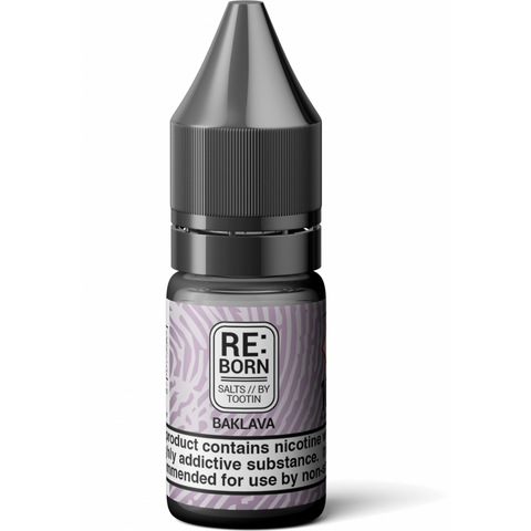 RE:Born - Baklava Salts By Tootin Juice | UK Ecig Station