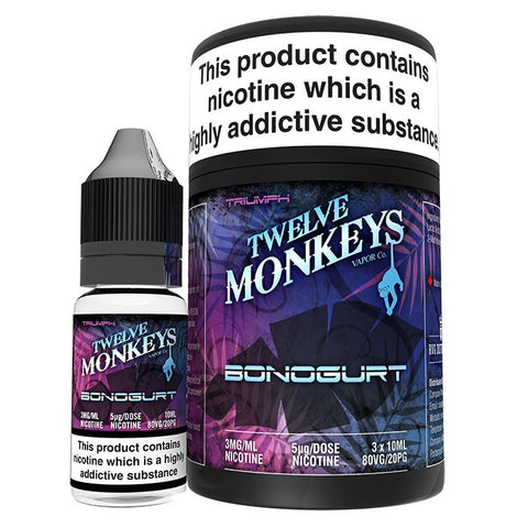 Twelve Monkeys - Bonogurt | UK Ecig Station