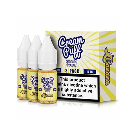 Cream Puff Factory - Banana | UK Ecig Station