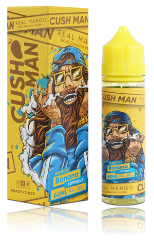 nasty juice cush man series banana mango eliquid uk ecig station