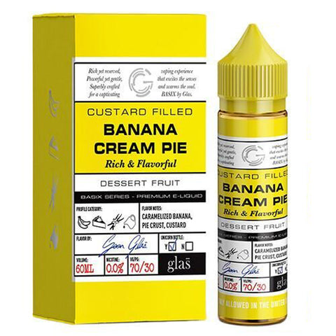 Glas Basix Series - Banana Cream Pie | UK Ecig Station