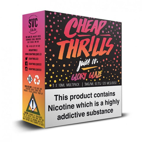 Cheap Thrills Juice Co - Glory Glaze | UK Ecig Station