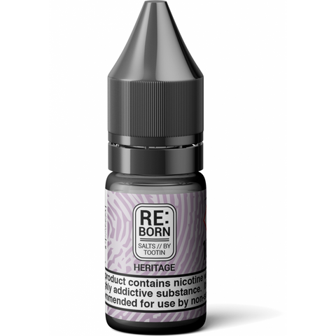 RE:Born - Heritage Salts By Tootin Juice | UK Ecig Station
