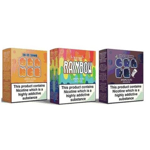 Is It True Eliquid Sample Pack