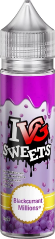 IVG Sweets - Blackcurrant Millions | UK Ecig Station
