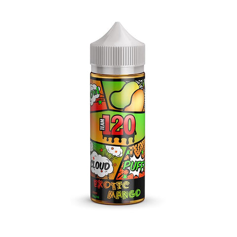 IVG Team 120 - Exotic Mango | UK Ecig Station