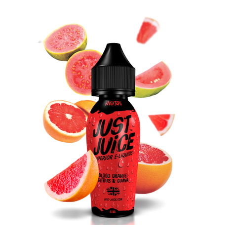 Just Juice - Blood Orange Citrus & Guava | UK Ecig Station