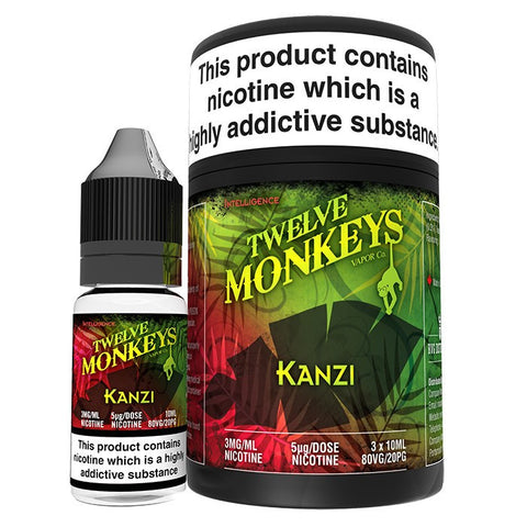 Twelve Monkeys - Kanzi | UK Ecig Station