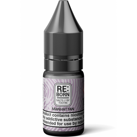 RE:Born - Manhattan Salts By Tootin Juice | UK Ecig Station