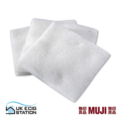 MUJI Organic Unbleached Cotton | UK Ecig Station